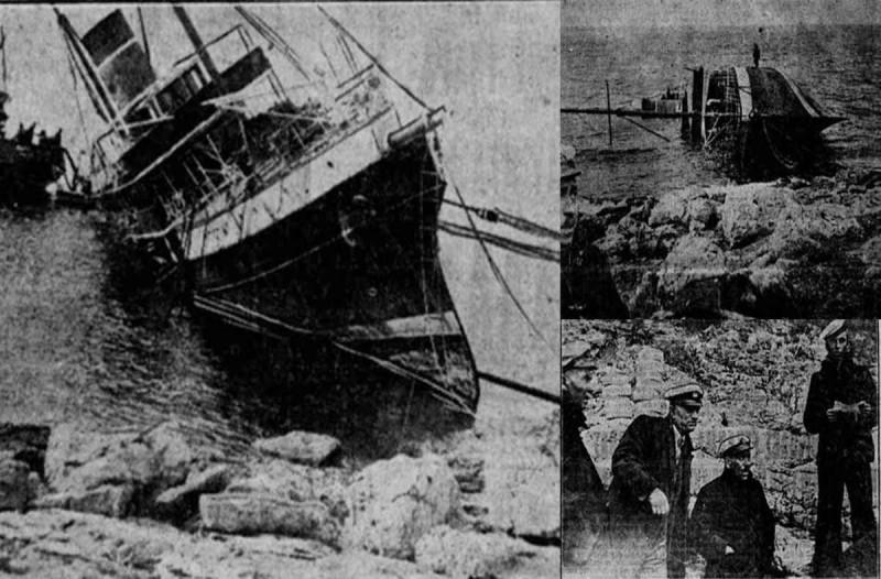 Το τραγικό ναυάγιο του 1920 του «Πόπη» που έγινε παροιμιώδης έκφραση «έγινε της Πόπης»
