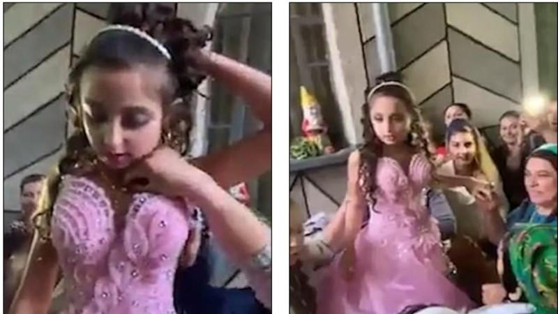 8χρονο κορίτσι παντρεύτηκε 10χρονο αγόρι