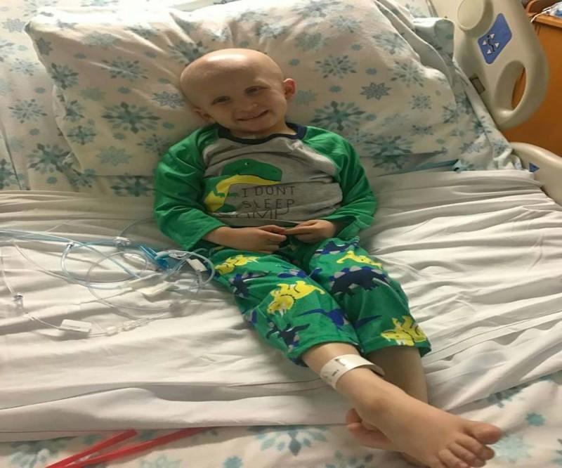 Παιδάκι με καρκίνο