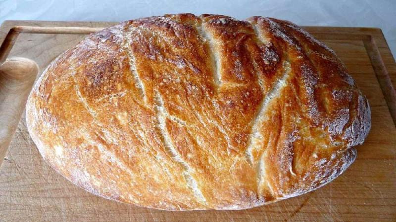 Συνταγή για χωριάτικο ψωμί με προζύμι