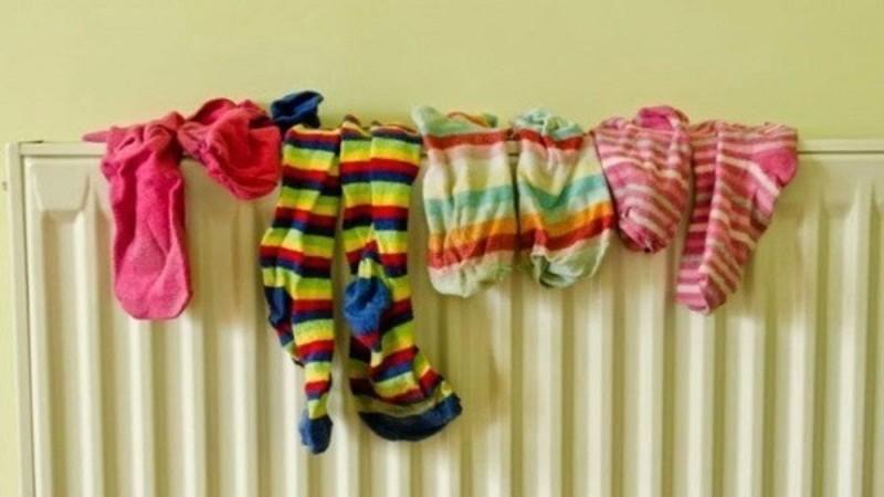 Σταμάτα να στεγνώνεις τα ρούχα στο καλοριφέρ
