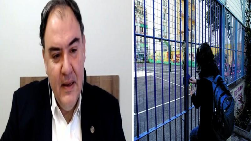 Κορωνοϊός: Δήλωση «φωτιά» Δημοσθένη Σαρηγιάννη- «2.000 κρούσματα αν ανοίξουν τα σχολεία» (Video)
