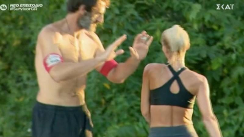 Survivor 4: Απαράδεκτη κίνηση της Ασημίνας - Δεν έδωσε το χέρι στον Κοψιδά