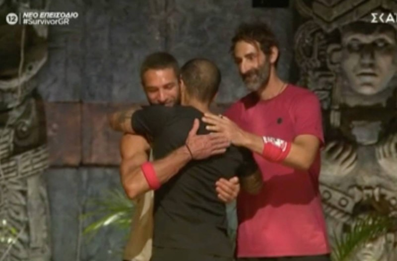 Survivor 4: Δικαίωση για τον «γίγαντα» Τριαντάφυλλο - Είναι ο πρώτος συμπαίκτης που πήρε ο Κοψιδάς
