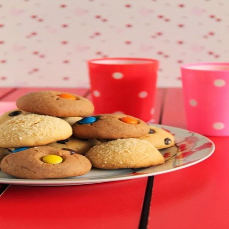 Μπισκότα με μόνο 3 υλικά - Λαχταριστή συνταγή