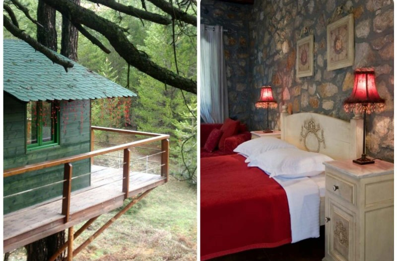 Guest House Alexiou: Ο Τάσος Δούσης μας προτείνει το... δεντρόσπιτο της ορεινής Κορινθίας με βαθμολογία 9,7
