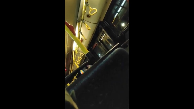 Κόλαση σε λεωφορείο στη Θεσσαλονίκη: «Άντε γ@μ@σ@#, @ρχ#δ#» - Βρισιές και απειλές οδηγού σε επιβάτη (Video)