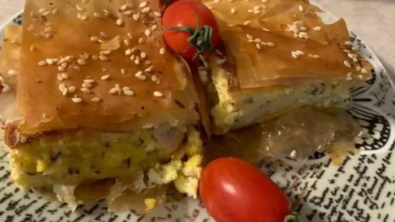 Τυρόπιτα με κρέμα τυριών!
