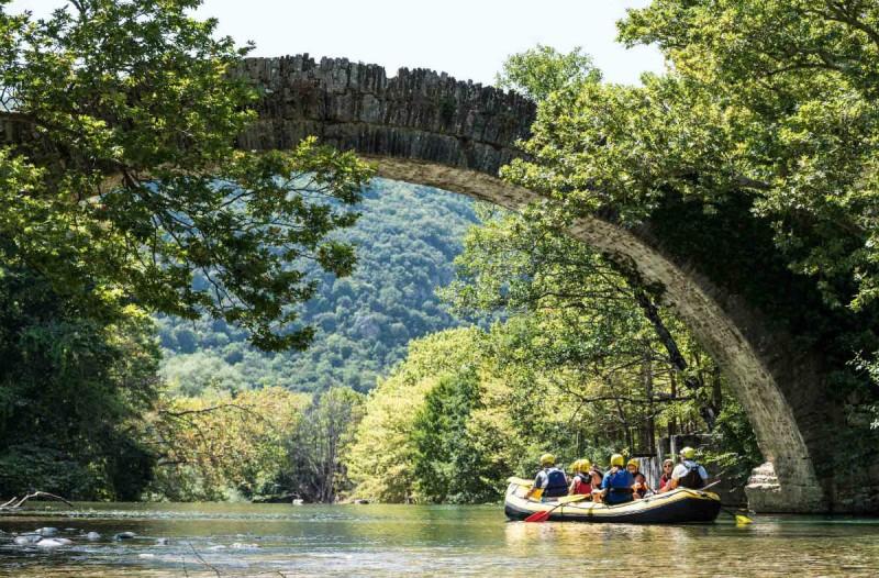 Η φωτογραφία της ημέρας:  Rafting στον Βοϊδομάτη ποταμό!