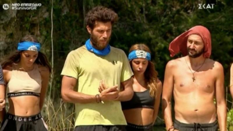 Survivor 4: «Μπουρλότο» παρά τις νίκες οι «Μπλε» - «Τι ζόρι τραβάς μαζί μου;»