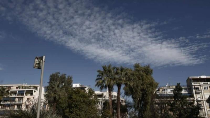 Αίθριος ο καιρός σήμερα: Ανεβαίνει το θερμόμετρο σε όλη τη χώρα