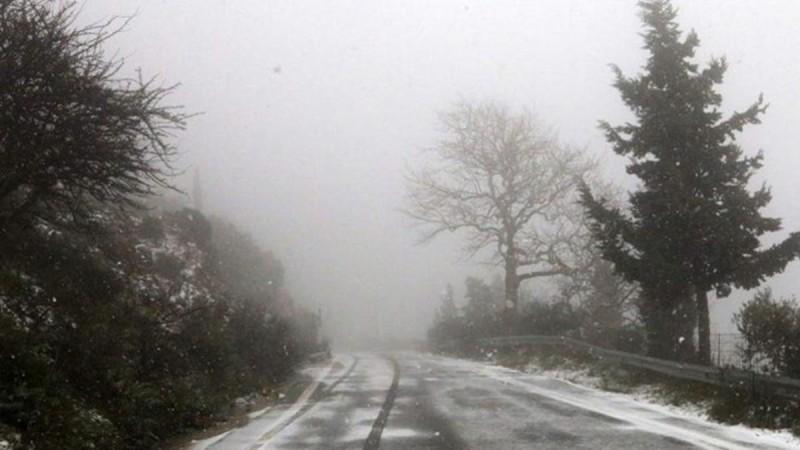 Διακοπή κυκλοφορίας στην Πάρνηθα λόγω ομίχλης