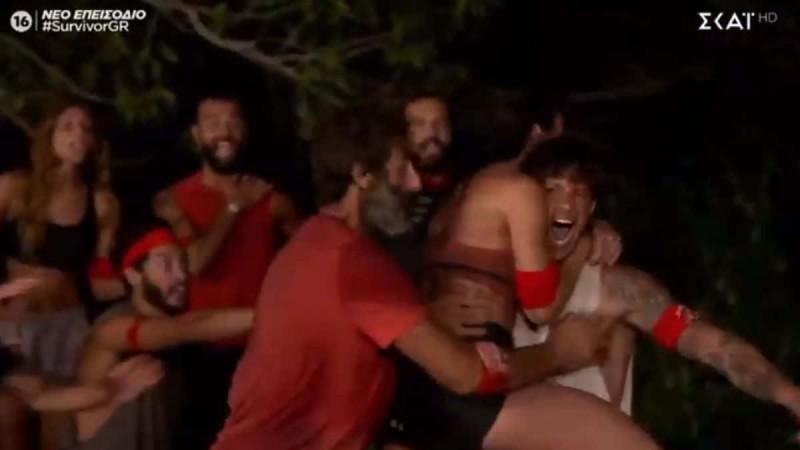 Survivor 4: Ταπείνωσαν τους μπλε οι κόκκινοι - Εύκολη νίκη με 10-4