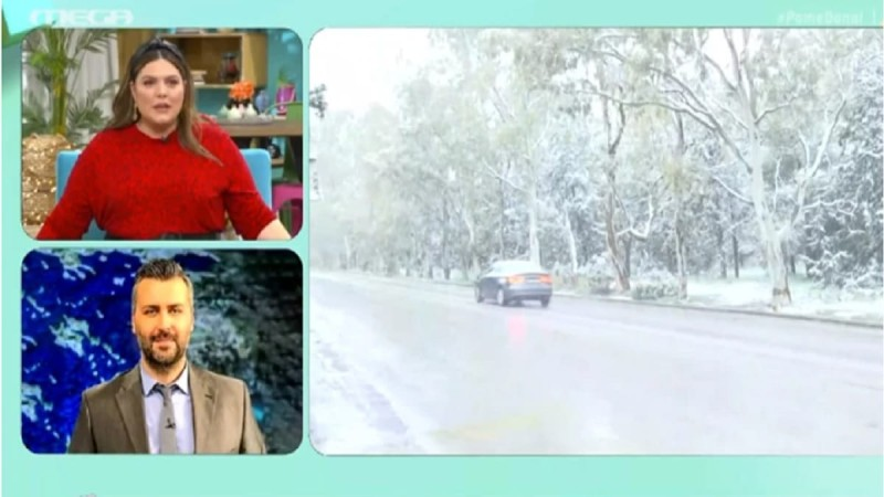 Προειδοποίηση Γιάννη Καλλιάνου: Προσοχή σε αυτές της περιοχές της Αττικής - Οι χιονοπτώσεις θα συνεχιστούν μέχρι αύριο το πρωί! (Video)