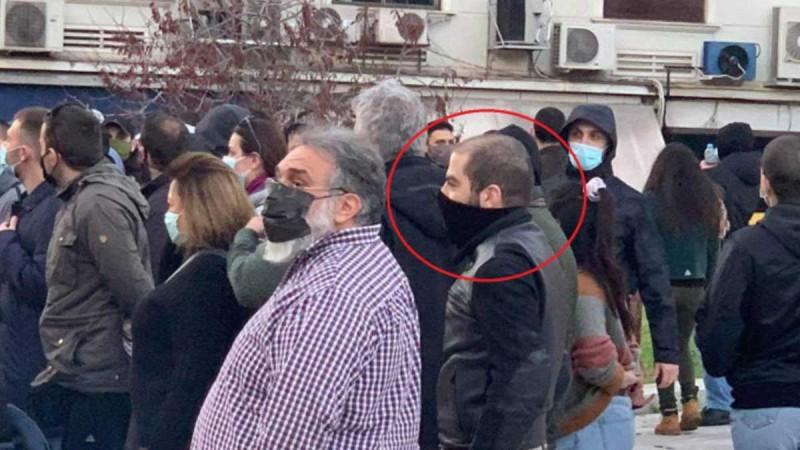 Στο συλλαλητήριο για τον Δημήτρη Κουφοντίνα ο γιος του