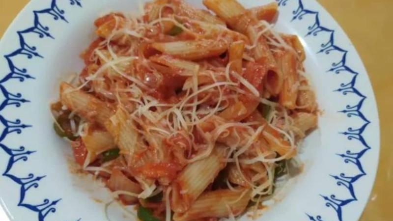 Healthy μακαρονάδα - Λαχταριστή και εύκολη συνταγή