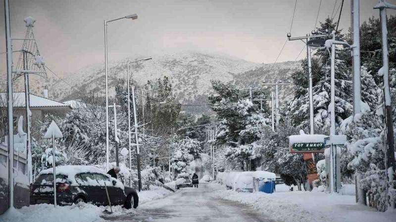 Κακοκαιρία «Μήδεια»: Σε κατάσταση έκτακτης ανάγκης ο Διόνυσος με εντολή Χαρδαλιά