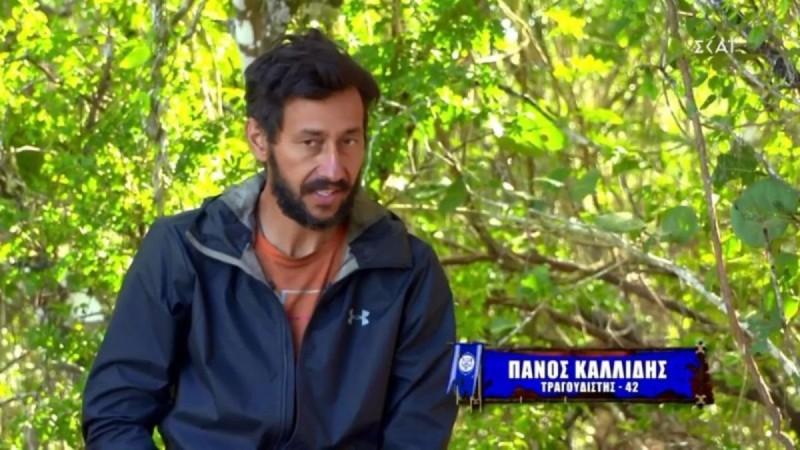 Survivor 4 - Εκνευρισμένος ο Πάνος Καλλίδης: