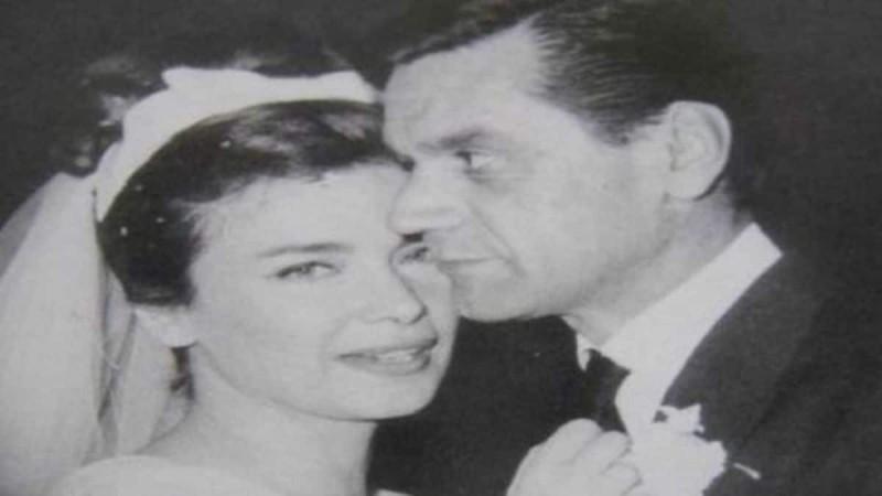 Δημήτρης Παπαμιχαήλ - Δέσπω Διαμαντίδου: Μαζί στο γάμο της Τζένης Καρέζη με τον Ζάχο Χατζηφωτίου (photo ντοκουμέντο)