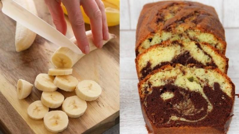 Υγιεινό κέικ μπανάνας χωρίς ζάχαρη που μπορείτε να τρώτε όσα κομμάτια θέλετε