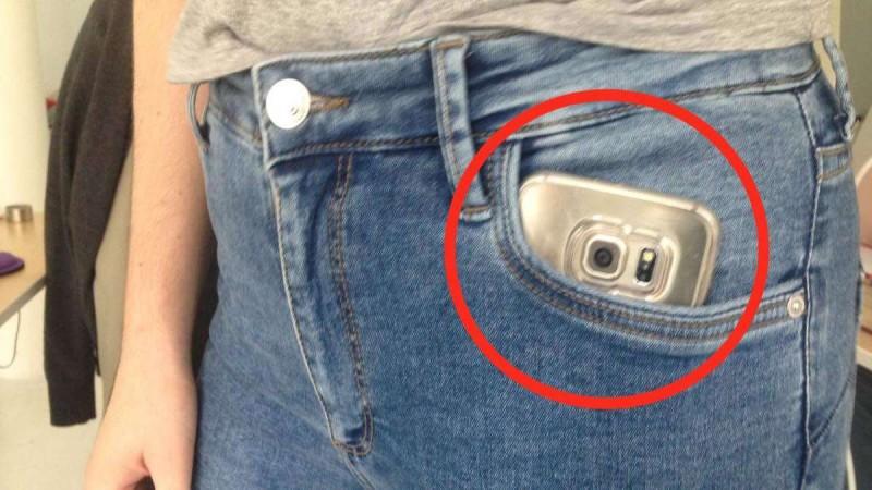 """""""Πάντα έβαζα το κινητό μου στην πλάγια τσέπη του παντελονιού μου - Μέχρι που διάβασα αυτό και με έπιασε τρόμος…"""""""
