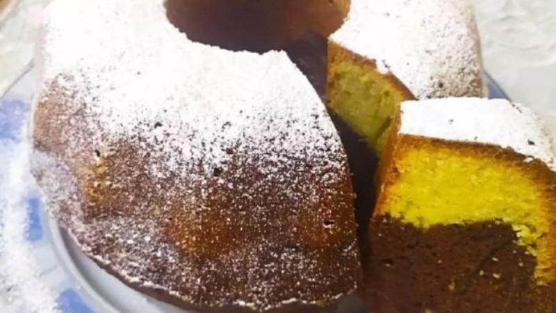 Κλασικό κέικ βανίλια - σοκολάτα