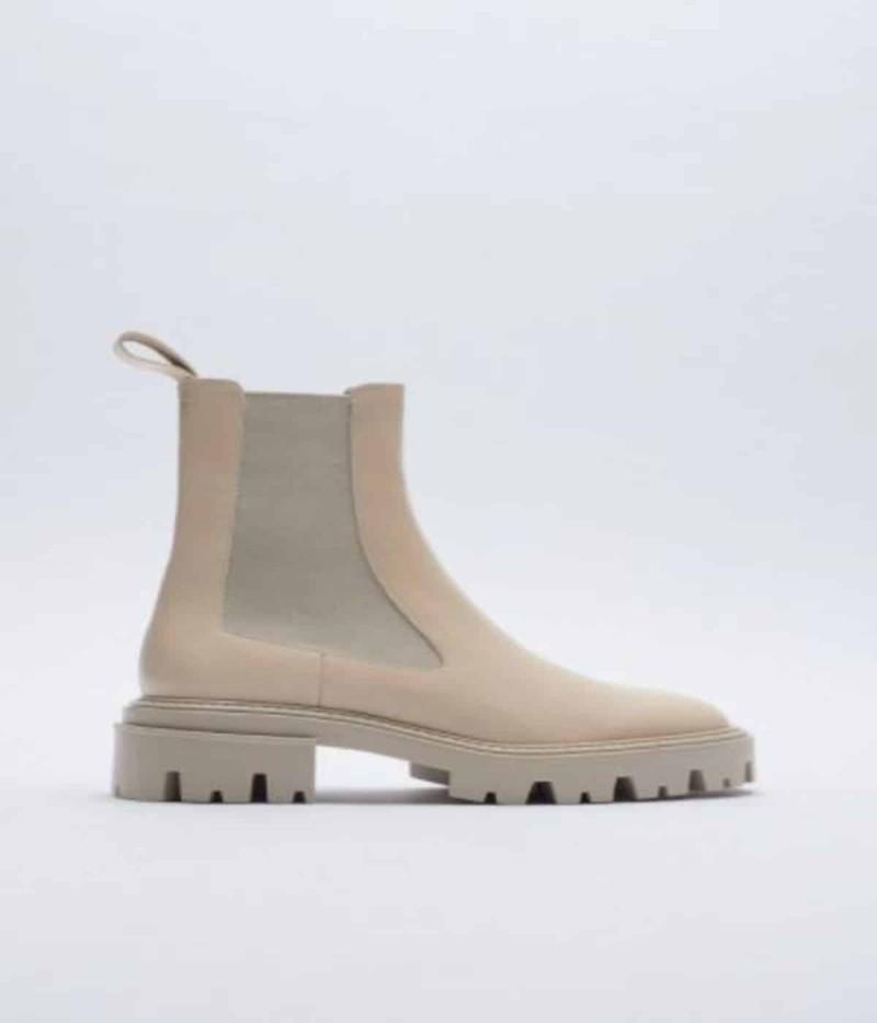 Παπούτσια ZARA εκρού