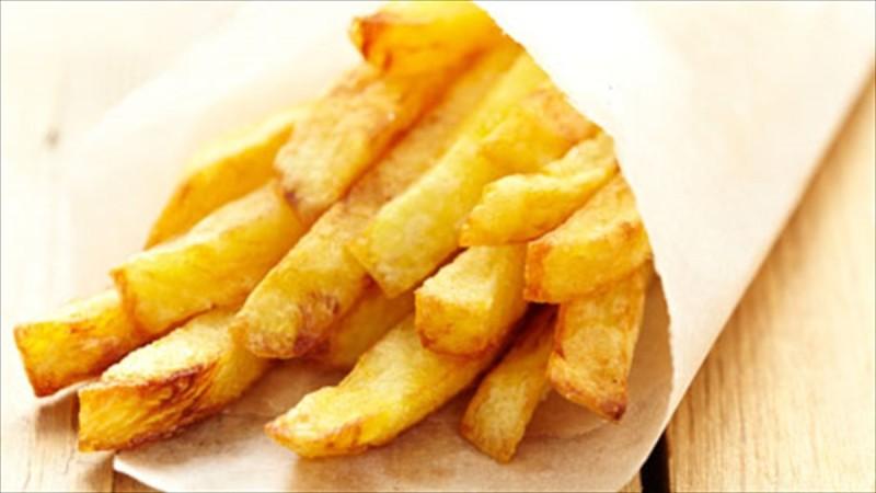 Πατάτες τηγανιτές - φλεγμονή