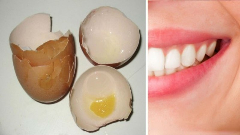 Πώς να απαλλαγείτε απο την τερηδόνα των δοντιών χρησιμοποιώντας τσόφλια αυγών;