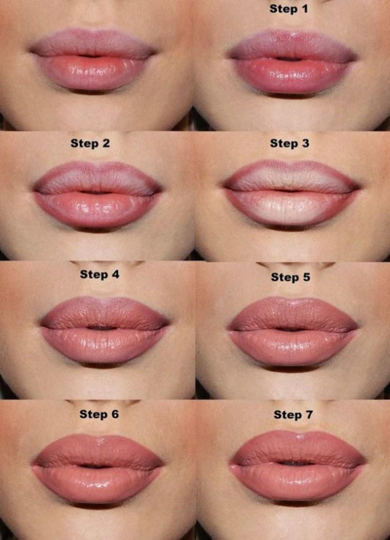 Για να κάνετε τα χείλη σας πιο γεμάτα και φουσκωτά