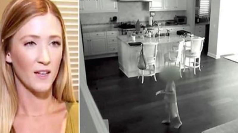 Η νταντά μπαίνει στο σπίτι και ακούει κάτι από μέσα - Όταν δείτε τι κατέγραψε η κάμερα θα σας κοπεί η ανάσα... (Video)
