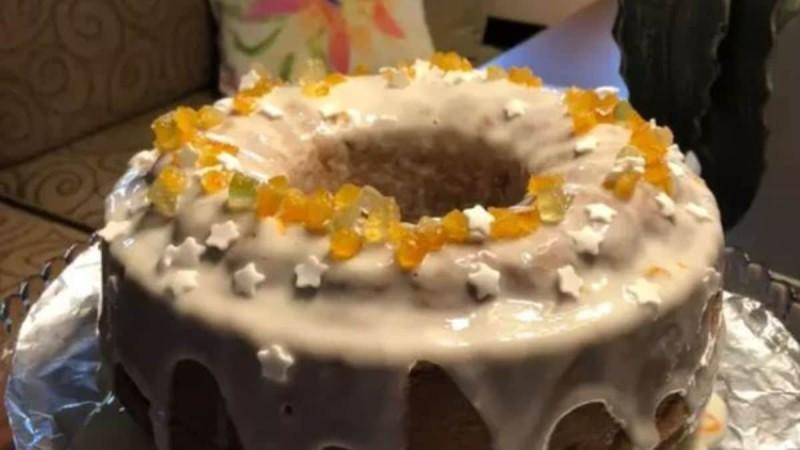 Αφράτο κέικ πορτοκαλιού