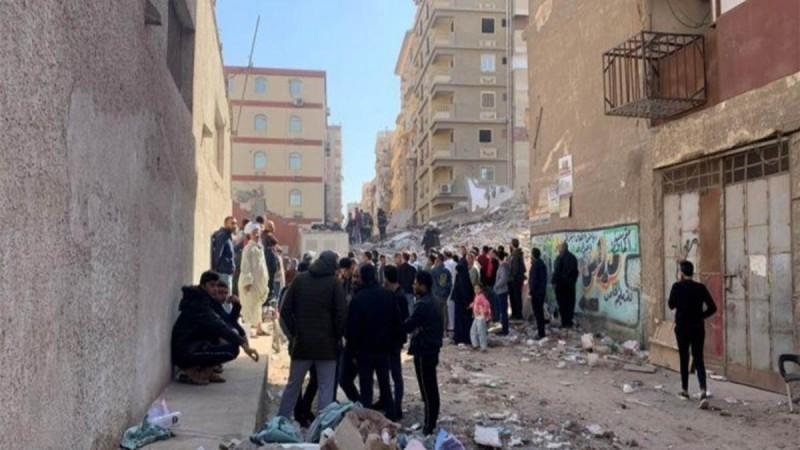 Tραγωδία στην Αίγυπτο: Κατέρρευσε κτίριο στο Κάιρο - Στους οκτώ οι νεκροί