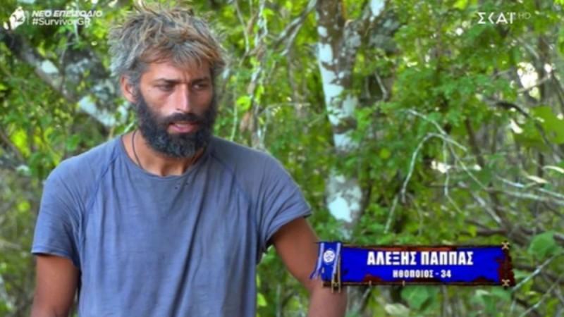 Survivor: Ράκος ο Αλέξης με την αποχώρηση του Κρις - «Είμαι ακόμα συγκλονισμένος από το σοκ»