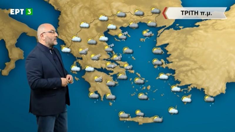 Σάκης Αρναούτογλου: Μέχρι και χιόνια σήμερα! Απειλητικό κρύο από τη βόρεια Ευρώπη (Video)