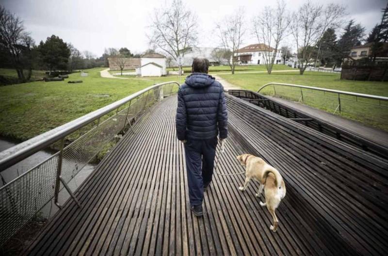 Αρνείται να αφήσει τον σκύλο του για σπίτι άστεγος άντρας
