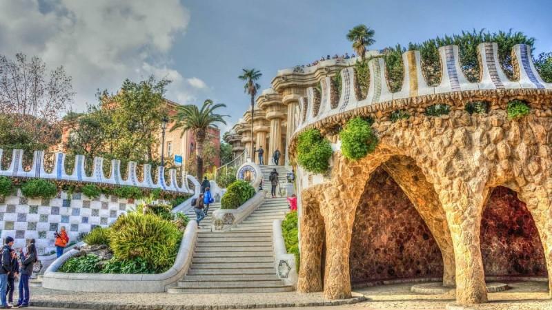 Η φωτογραφία της ημέρας: Η Βαρκελώνη του Αντόνι Γκαουντί