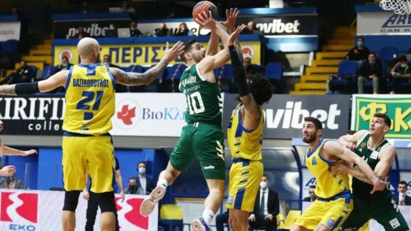 Basket League: «Πέταξε» από το Περιστέρι ο Παναθηναϊκός με επική ανατροπή (Video)