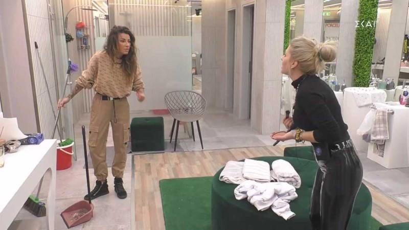 Big Brother: Λάβρος κατά της Άννας Μαρίας η Ραμόνα - «Είναι ρατσίστρια και μου έκανε bullying»