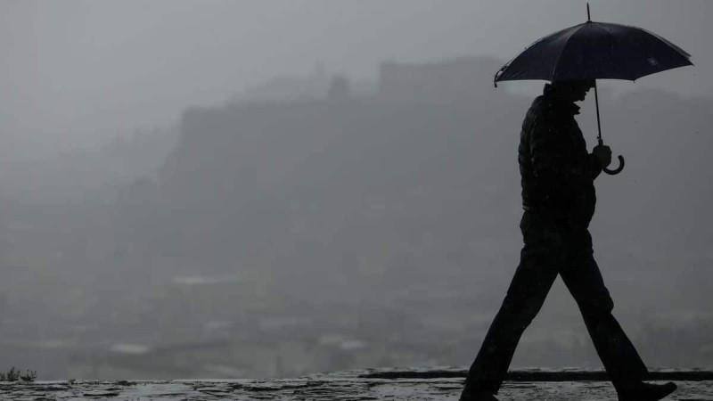 Καιρός σήμερα: Βροχές και καταιγίδες σε όλη τη χώρα