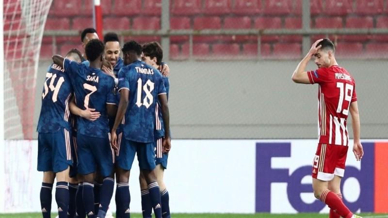 Europa League: «Κανονιές» στο Καραϊσκάκη απ' την Άρσεναλ - Πλήρωσε τα λάθη του ο Ολυμπιακός (Video)