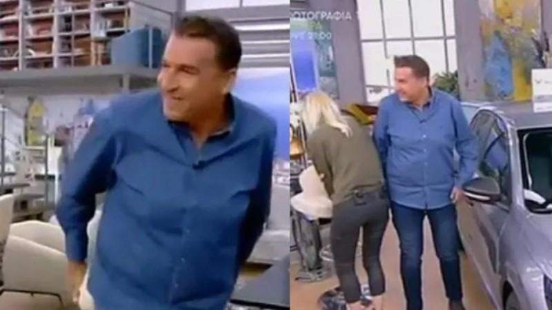 Πρωινό: Ο Γιώργος Λιάγκας κόλλησε στην καρέκλα! (video)