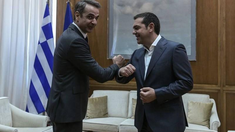 Δημοσκόπηση: Σταθερά μεγάλη η διαφορά ΝΔ-ΣΥΡΙΖΑ