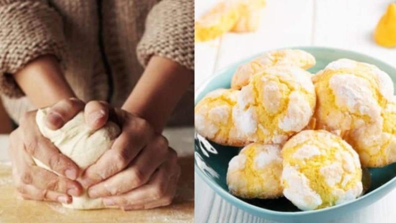 Υπέροχα μπισκοτάκια με γεύση λεμόνι χωρίς βούτυρο και χωρίς αυγά