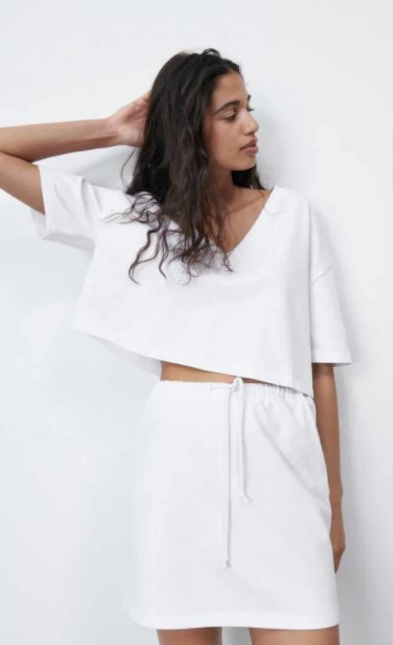 Zara καλοκαιρινές μπλούζες