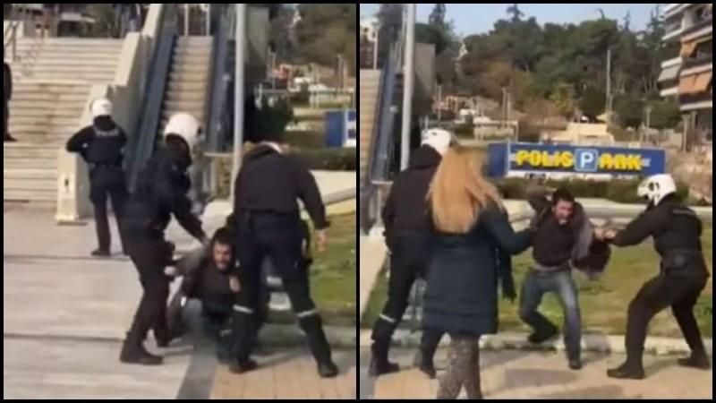 Νέα Σμύρνη: Αποτροπιασμός για την αστυνομική βία - Αυτόπτης μάρτυρας περιγράφει πώς ξεκίνησε η επίθεση των αστυνομικών (Video)
