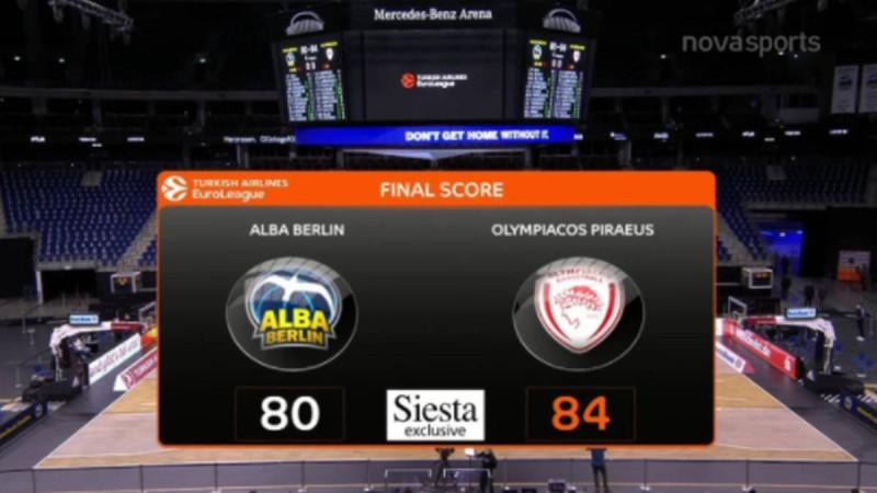 Euroleague: Τρομερό Βεζένκοβ χάρισε σπουδαίο διπλό στον Ολυμπιακό