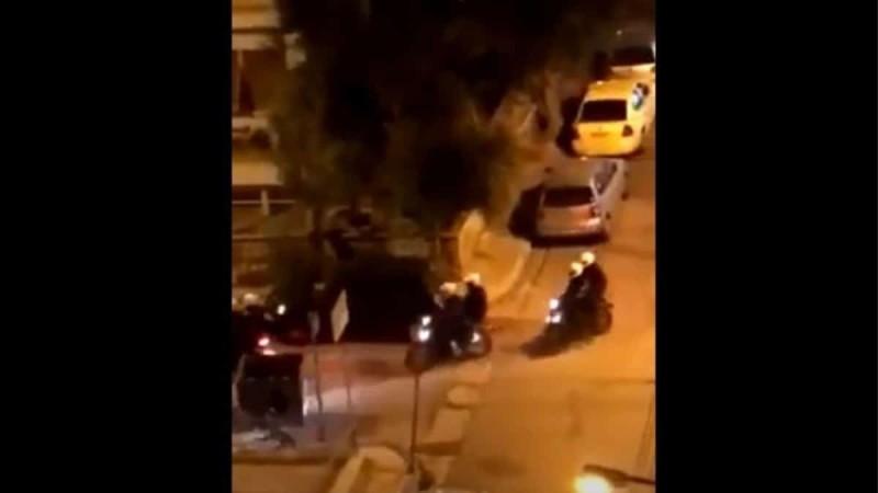 Πανόρμου: Έρευνα για αστυνομικούς που έσπασαν το φανάρι παρκαρισμένου αμαξιού (Video)
