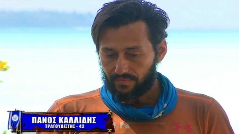 Survivor 4: «Ξέφυγα από τα όριά μου» - Αποχώρησε ο Πάνος Καλίδης! (video)