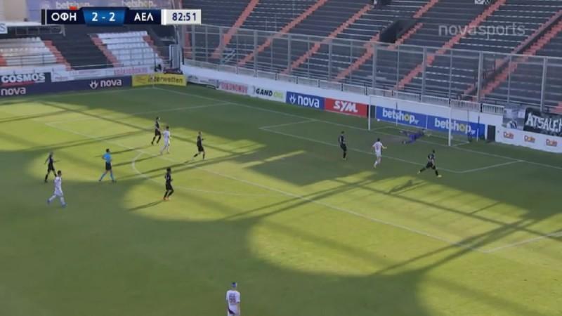Super League: Τεράστιο διπλό της ΑΕΛ επί του ΟΦΗ (Video)